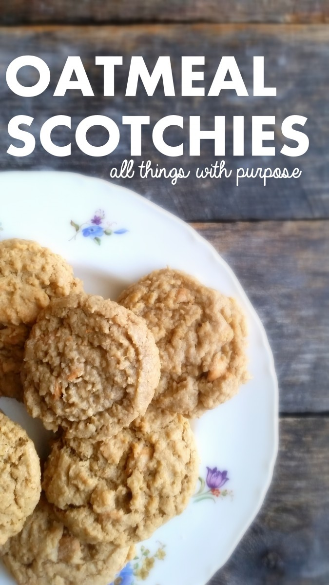 oatmeal scotchies cookie
