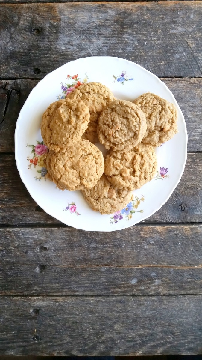 oatmeal scotchie cookies