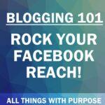 Blogging 101: Rock Your Facebook Reach 1