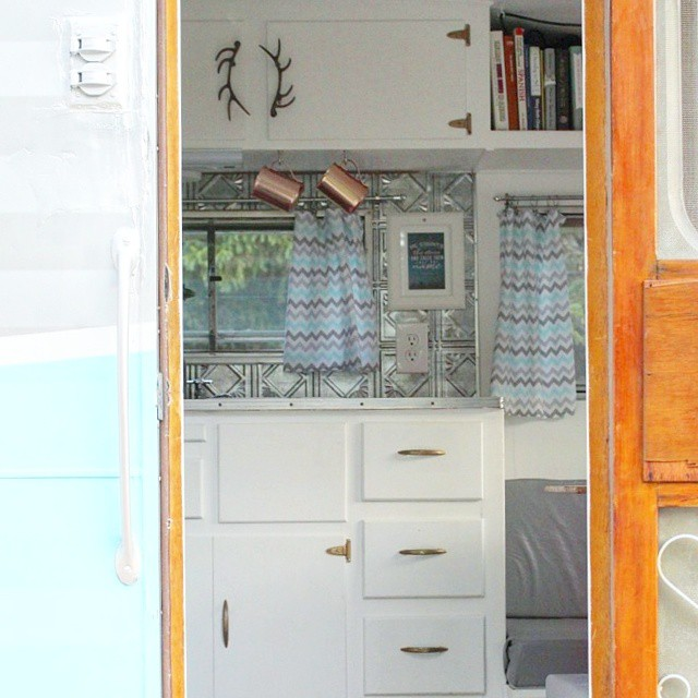 Our Vintage Camper: Before and After 5
