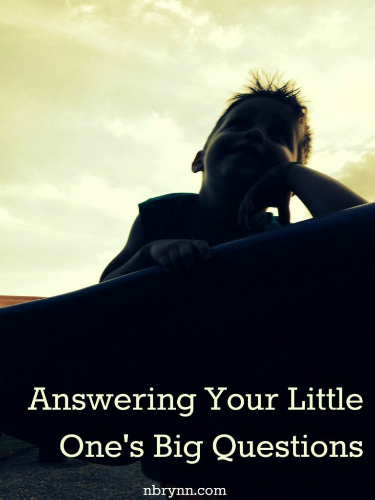 answering your little one's big questions