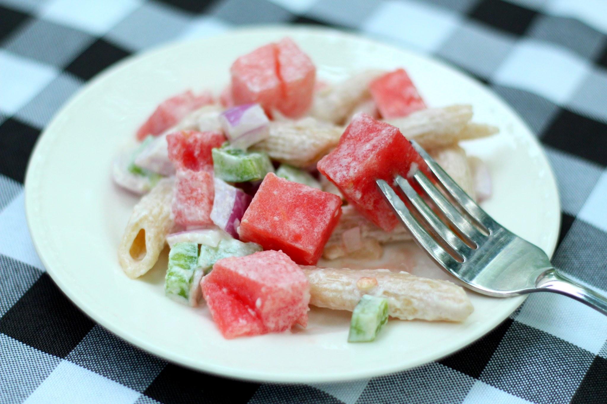 watermelon pasta salad recipe for summer
