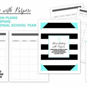 Homeschooling with Purpose Planner 5