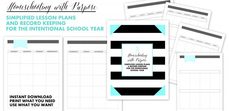 Homeschooling with Purpose Planner