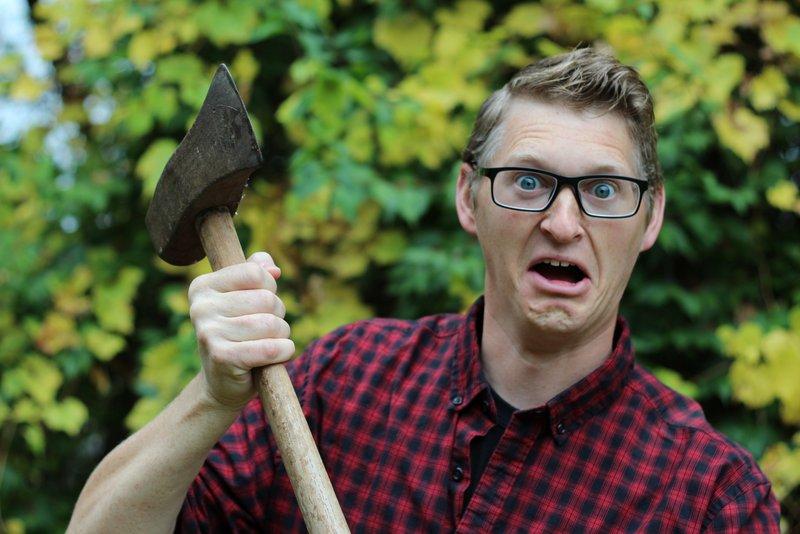 Crazy ax man model
