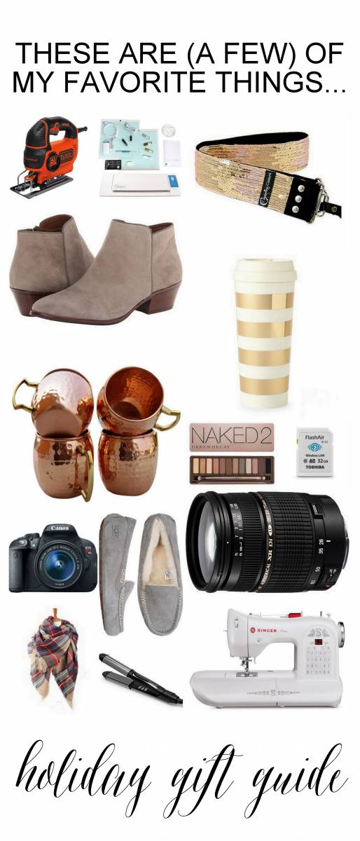 Holiday gift guide for women! Something for everyone on your list and for yourself!