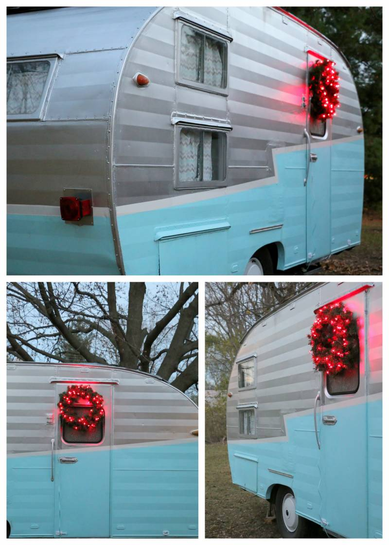 vintage trailer for Christmas