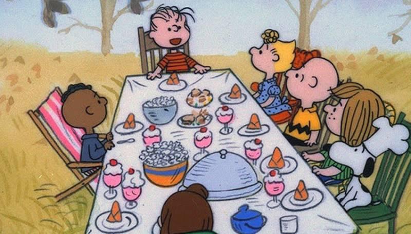 peanuts-thanksgiving-table