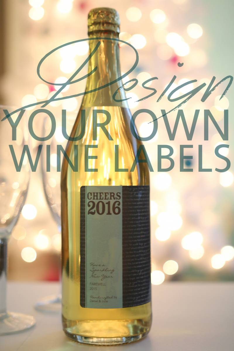 DESIGN YOUR OWN LABELS