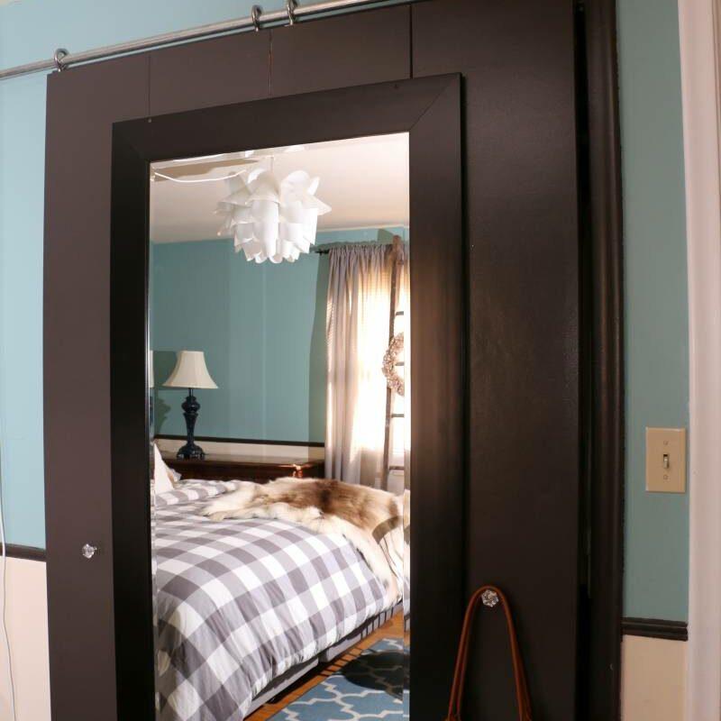 DIY Modern Sliding Barn Door
