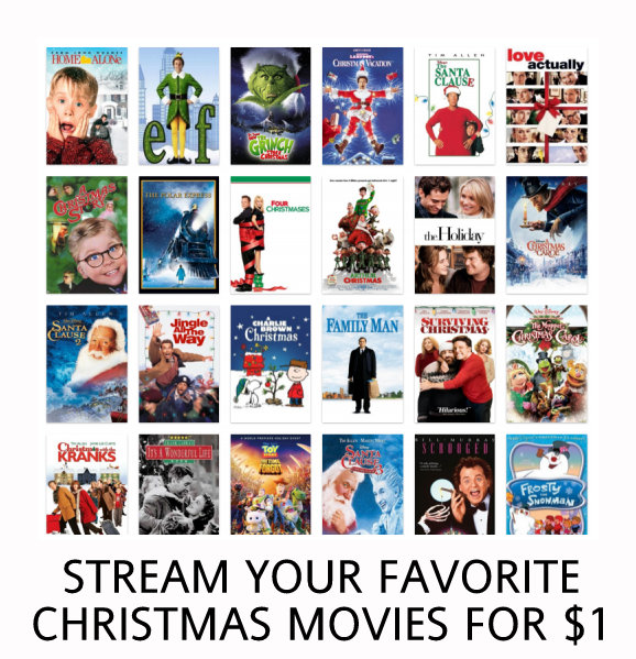 VIDANGLE CHRISTMAS MOVIES