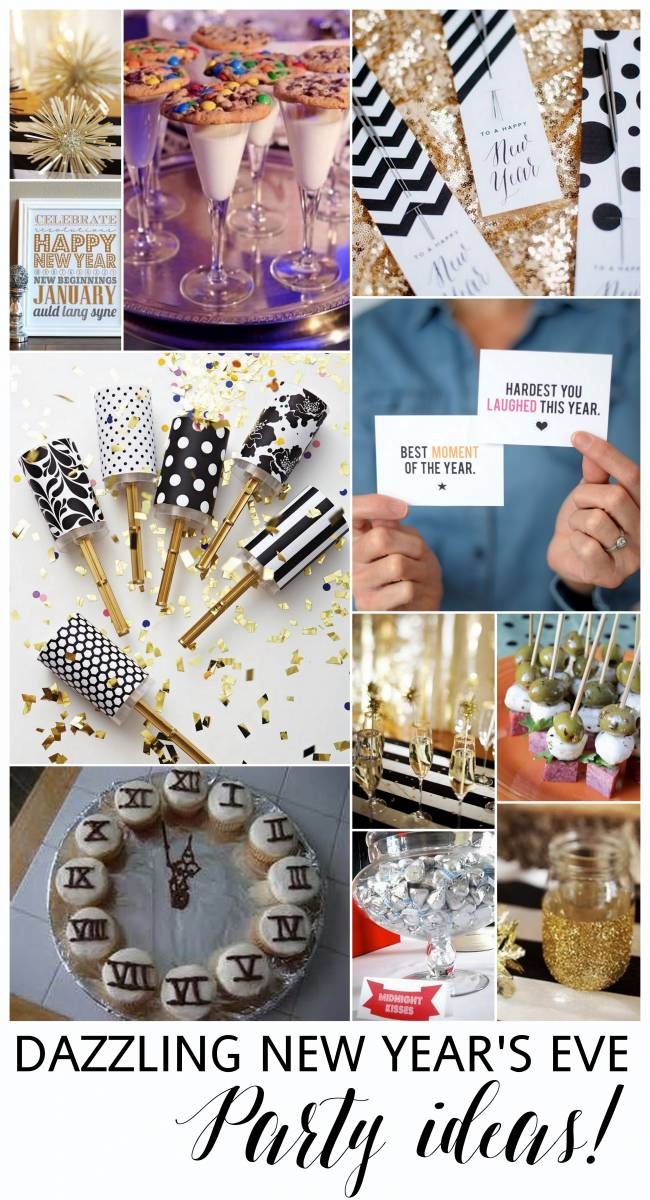 Dazzling ideas for a last minute new years eve party - Last minute new year s eve party ideas ...