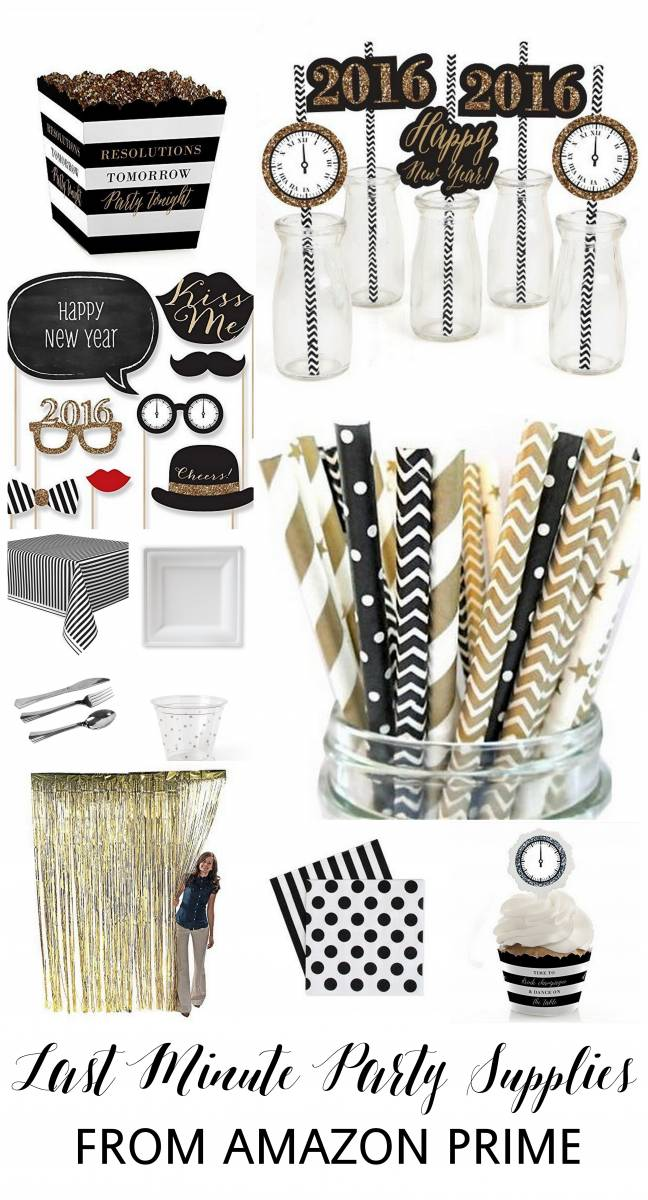 Dazzling ideas for a last minute new years eve party for Last minute party ideas
