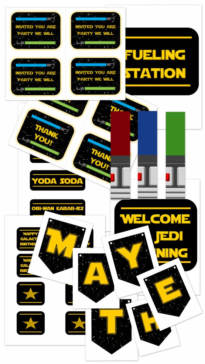 Star Wars Party Printables and Epic Ideas 5
