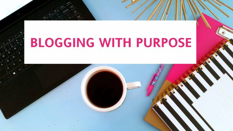 Blogging with Purpose Part 1: How to Start 5