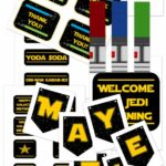 Star Wars Party Printables and Epic Ideas 1