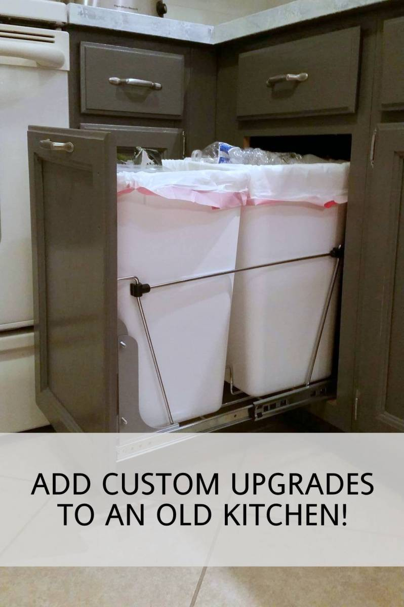 adding custom upgrades to an old kitchen