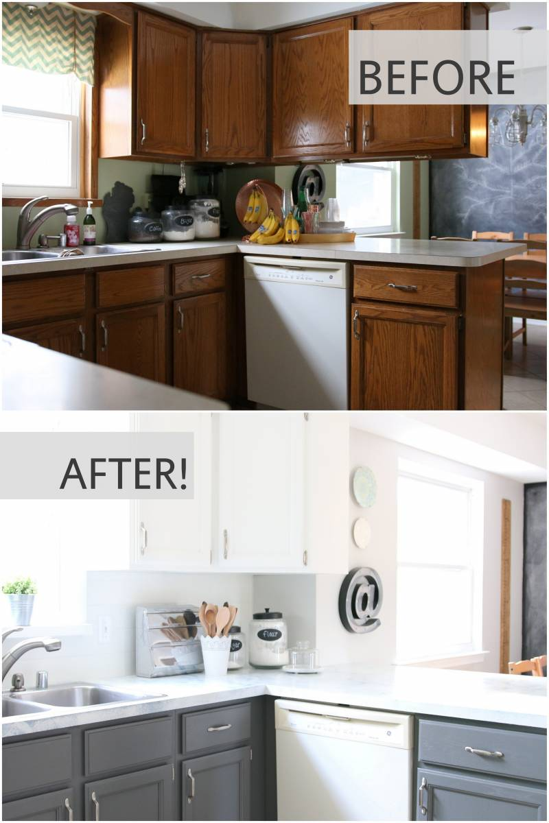 Home Depot Kitchen Cabinet Paint