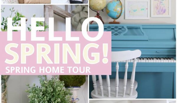 Spring Home Tour & Giveaway!