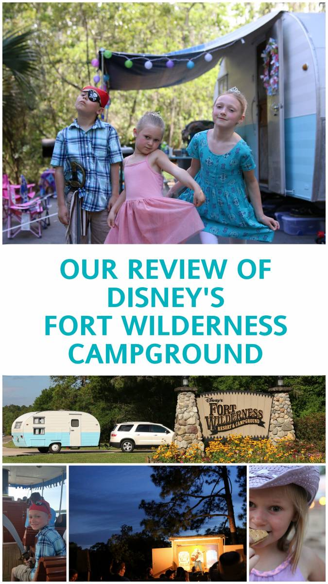 DISNEYS FORT WILDERNESSS CAMPGROUND
