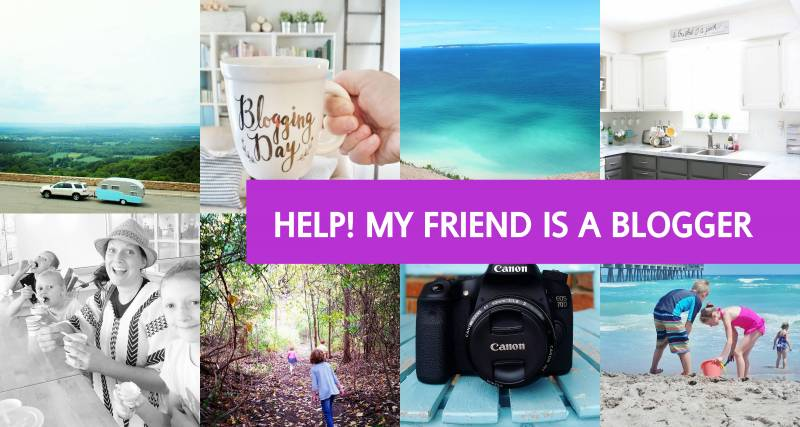 Help! My Friend is a Blogger 1