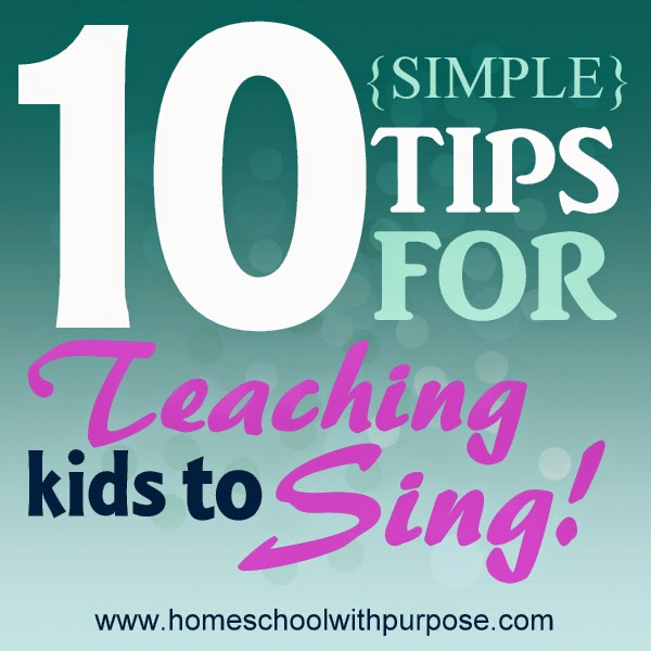 10 {Simple} Steps to Help Your Kids Sing