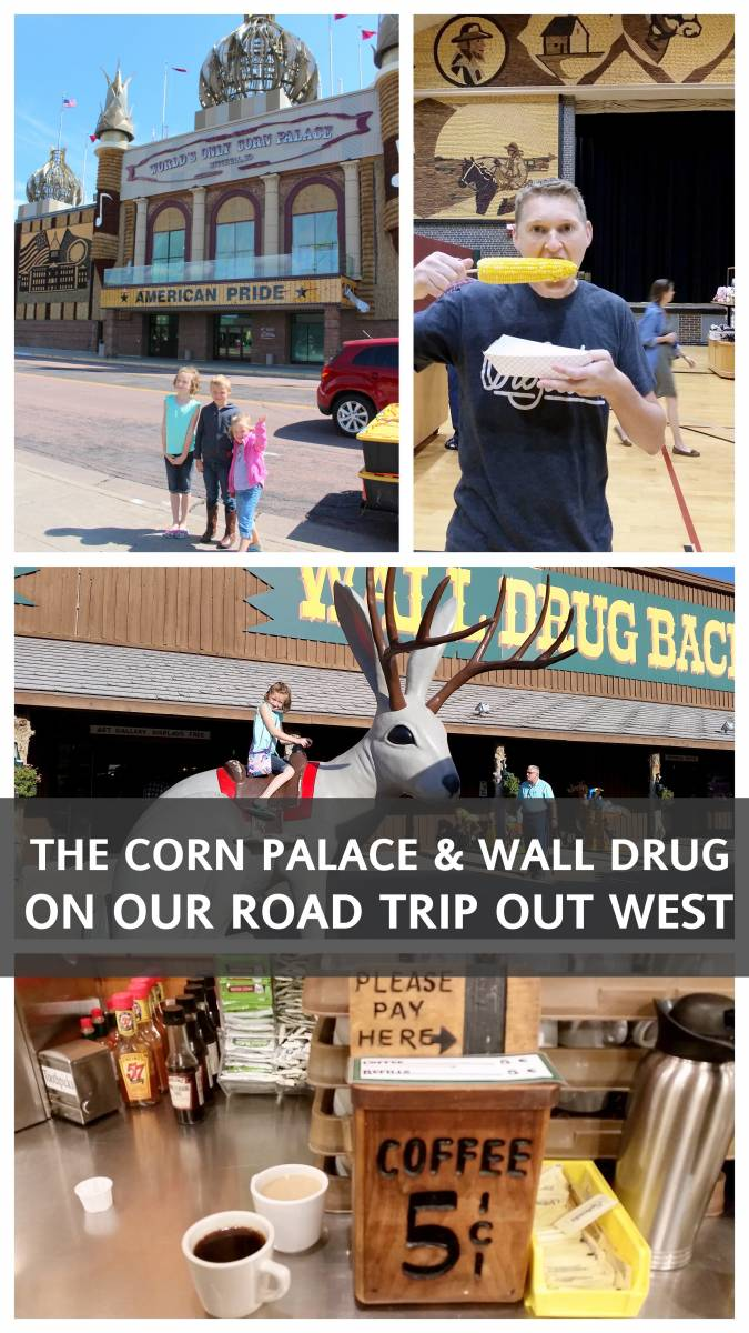 CORN PALACE AND WALL DRUG