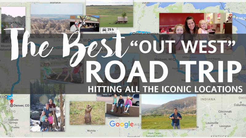 "The BEST ""Out West"" Road Trip 18"