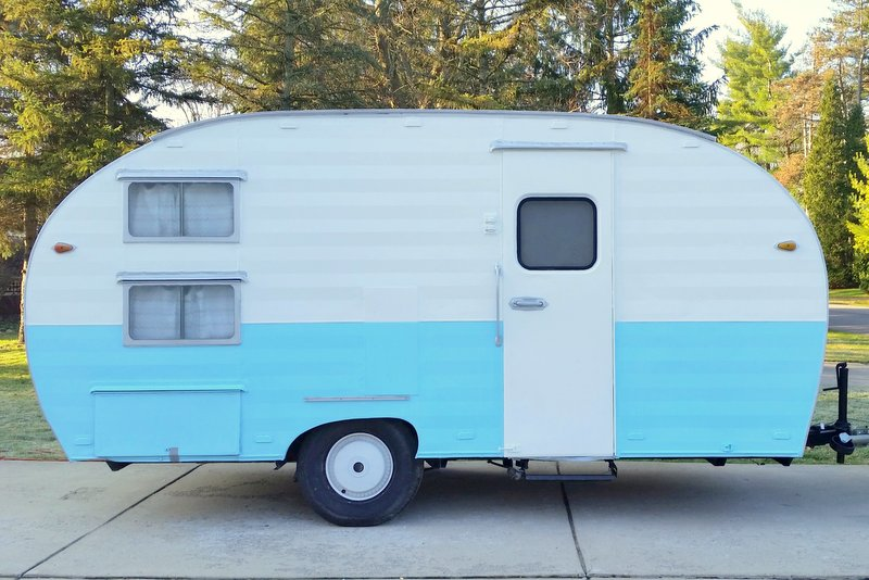 For Sale: 1956 Vintage Trailer