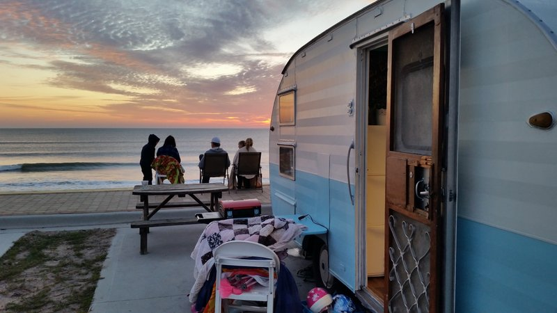 Oceanfront Camping on Beverly Beach 10