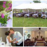 Our (Pre Pinterest) Backyard Wedding