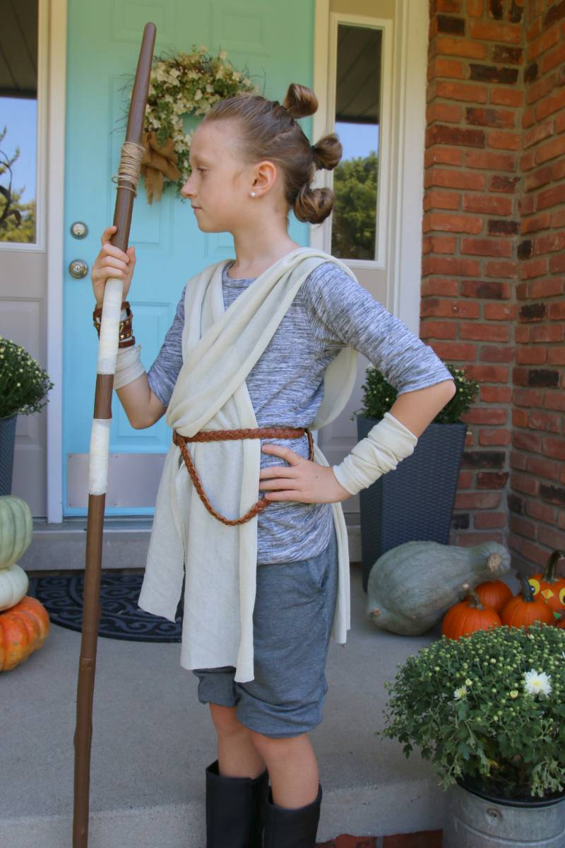 Rey Staff Diy Halloween Costume