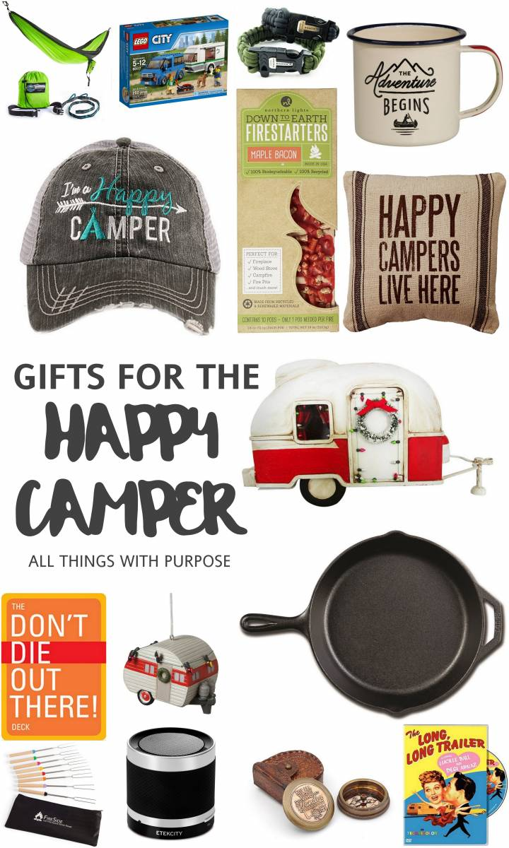 Gift Guide for the Happy Camper
