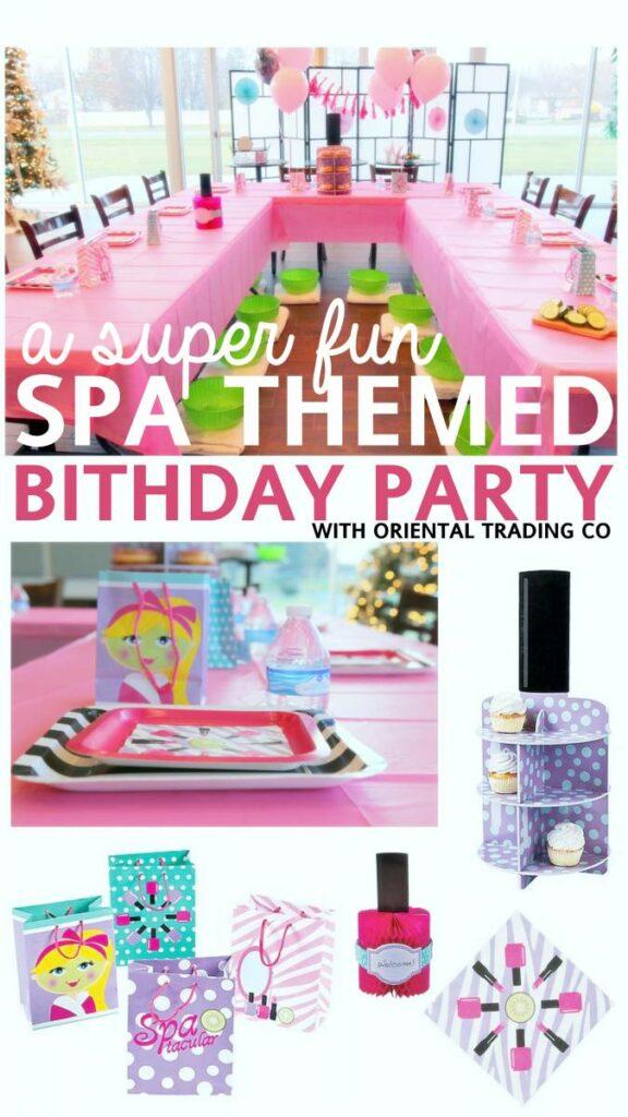 A Birthday Spa Party