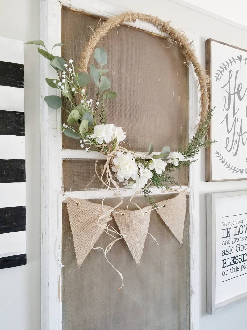 Diy Hoop Wreaths All Things With Purpose