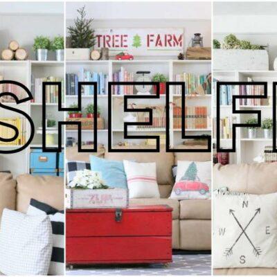 Seasonal Shelf Styling