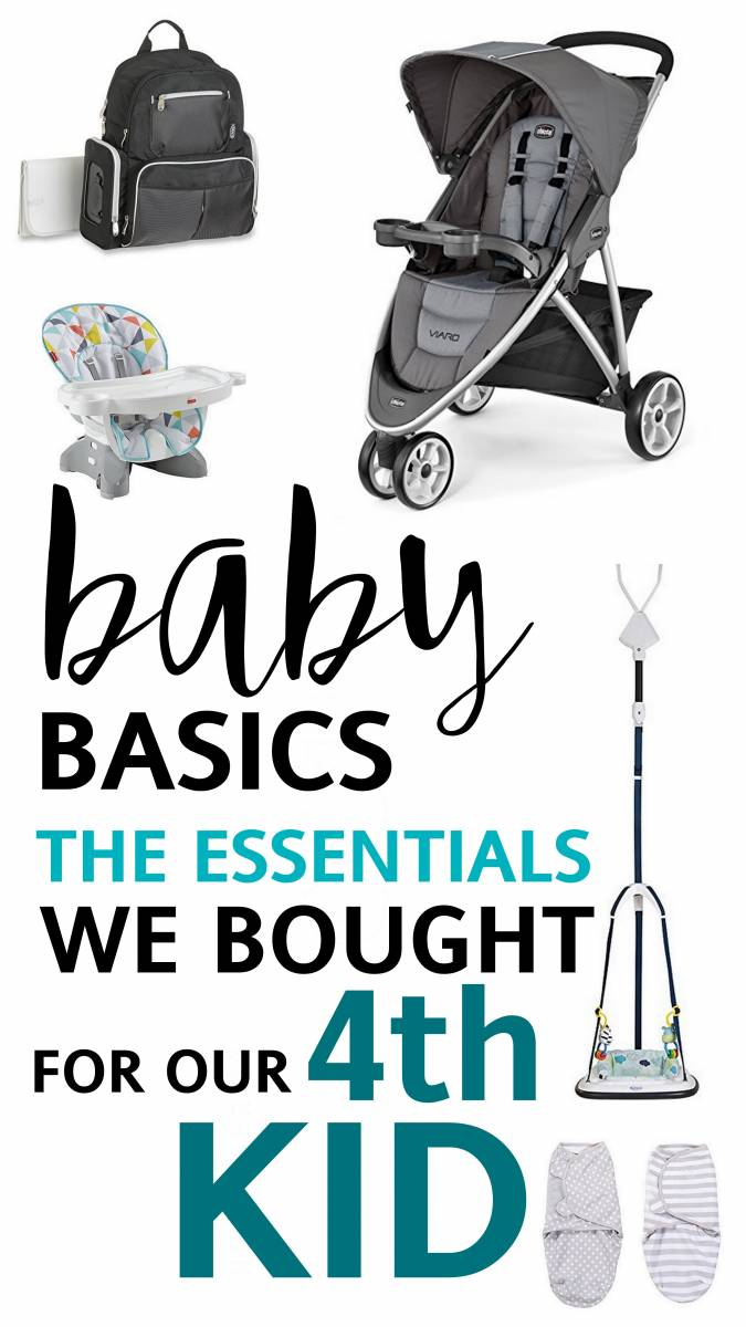 Baby Basics: Gear for the 4th Child!