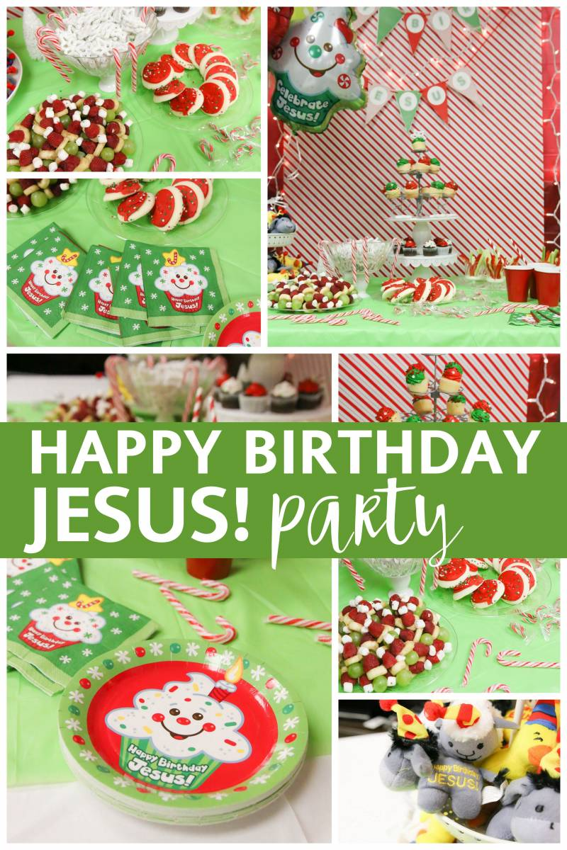 A Birthday Party For Jesus All Things With Purpose
