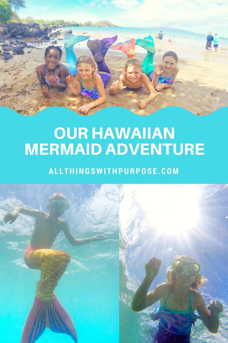 HAWAIIAN MERMAID ADVENTURE ON MAUI