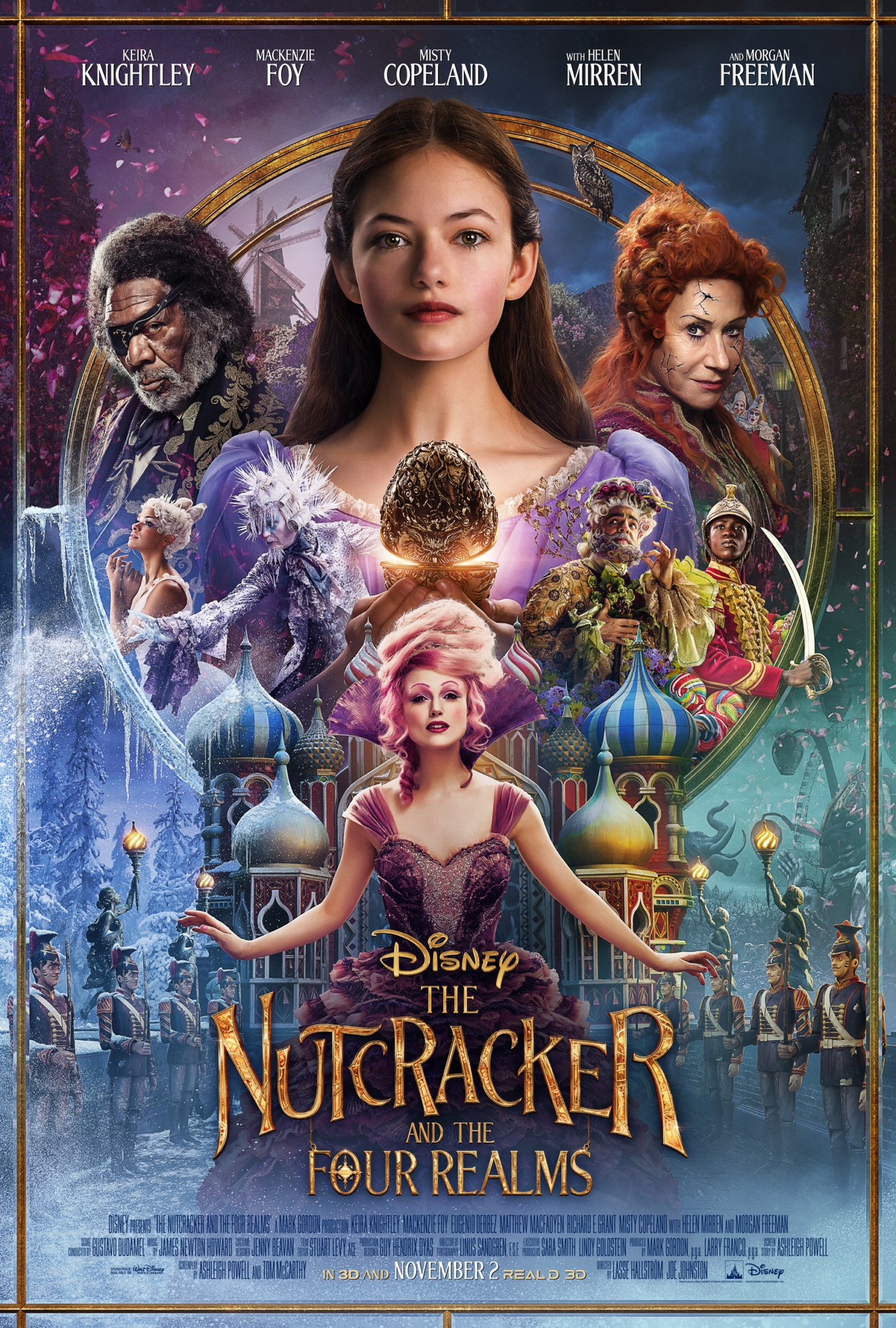 The Nutcracker And The Four Realms Coloring Pages