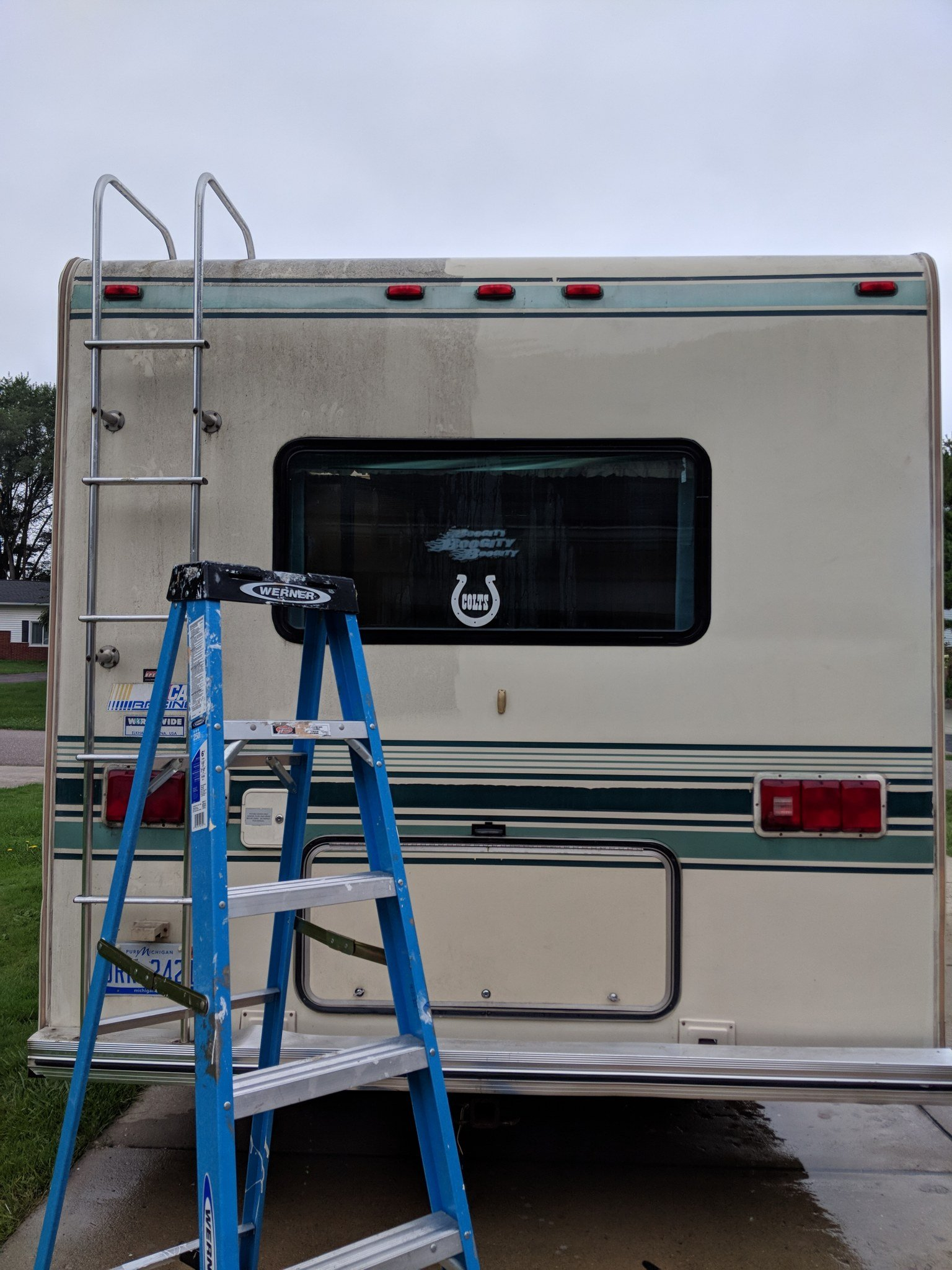 How To Paint The Exterior Of A Camping Trailer Or Rv