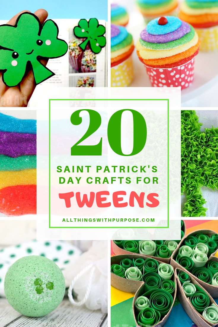 Saint Patrick S Day Crafts For Your Tween Age Kids To Make