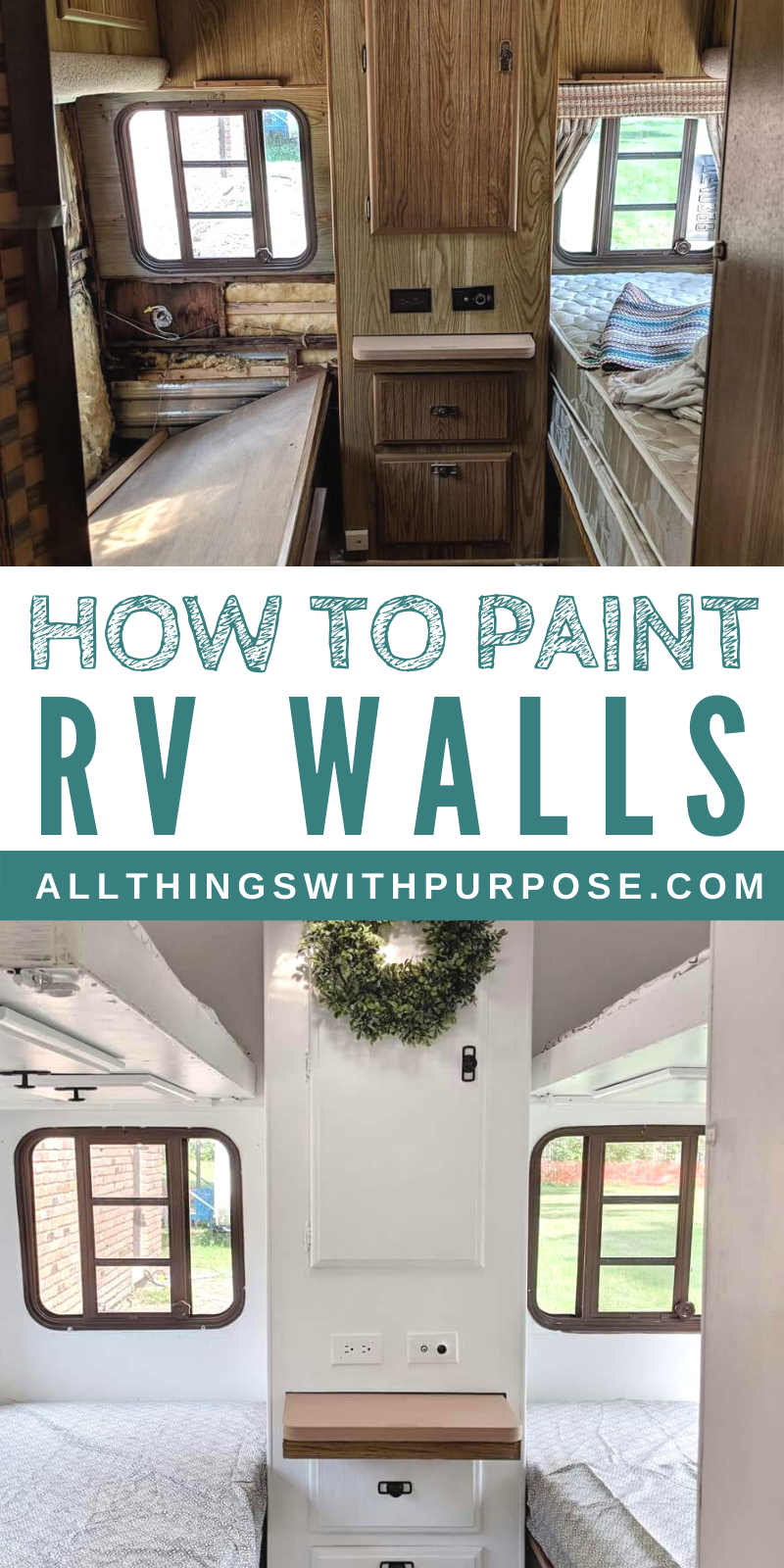 How To Paint The Interior Walls Of An Old Rv Tips And Advice