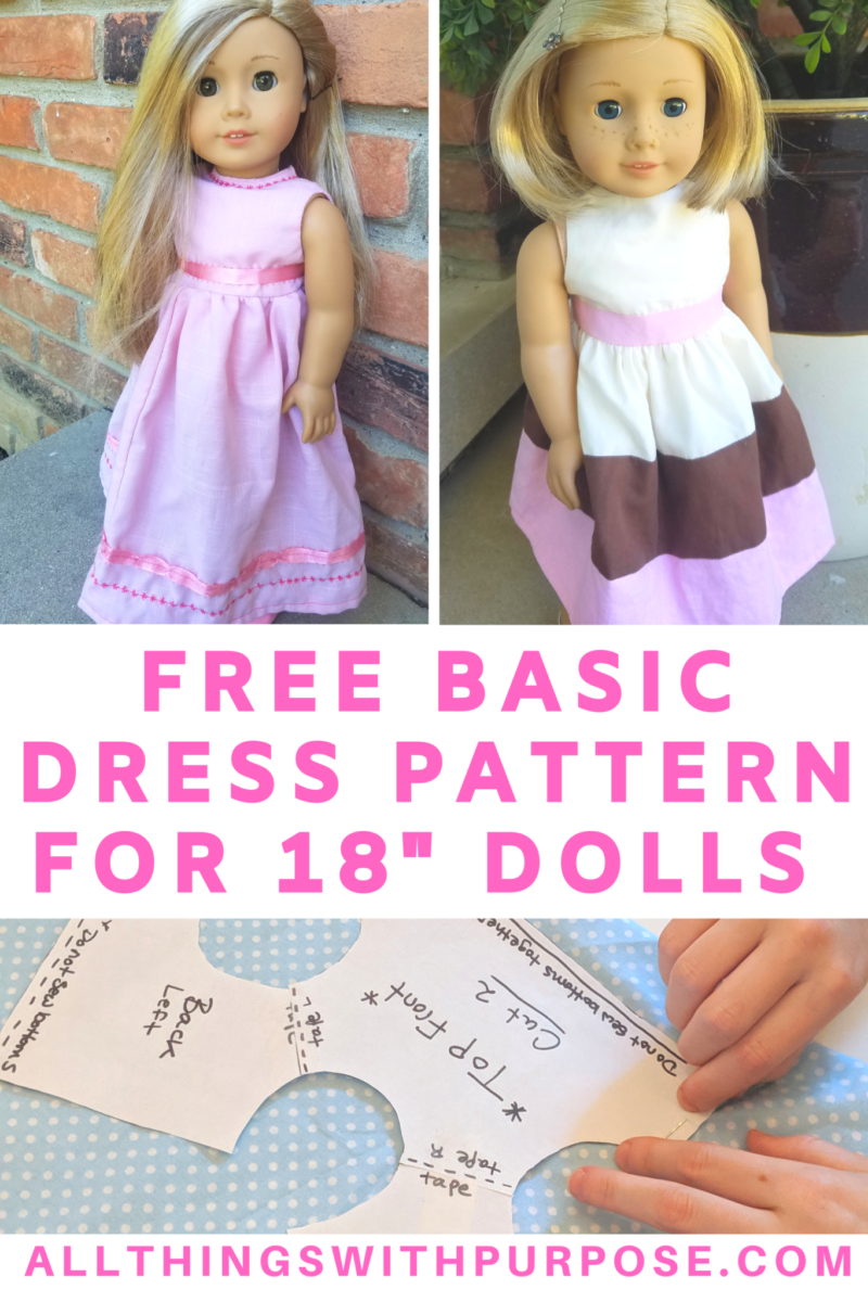 It's just a picture of Free Printable Barbie Clothes Sewing Patterns throughout cute