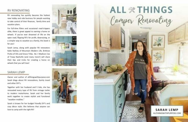 All Things Camper Renovating eBook All Things with Purpose Sarah Lemp 1