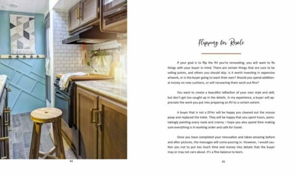 All Things Camper Renovating eBook All Things with Purpose Sarah Lemp 2