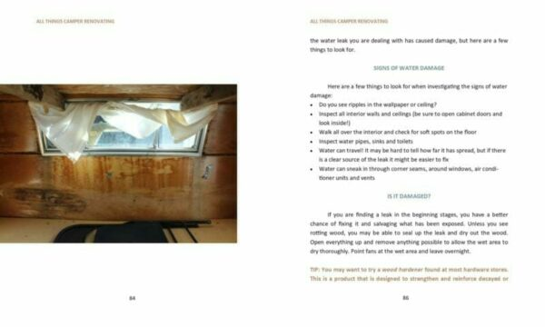 All Things Camper Renovating eBook All Things with Purpose Sarah Lemp 7