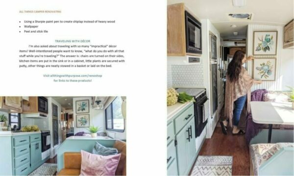 All Things Camper Renovating eBook All Things with Purpose Sarah Lemp 9
