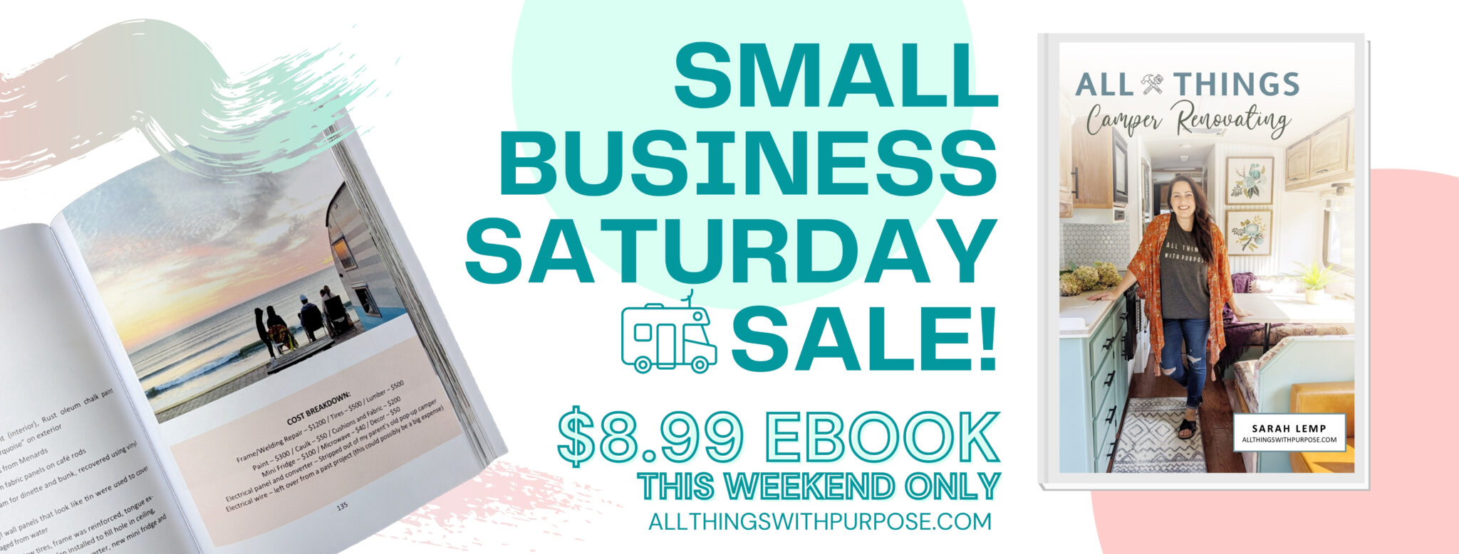 Small Business Saturday eBook Sale All Things with Purpose Sarah Lemp 1