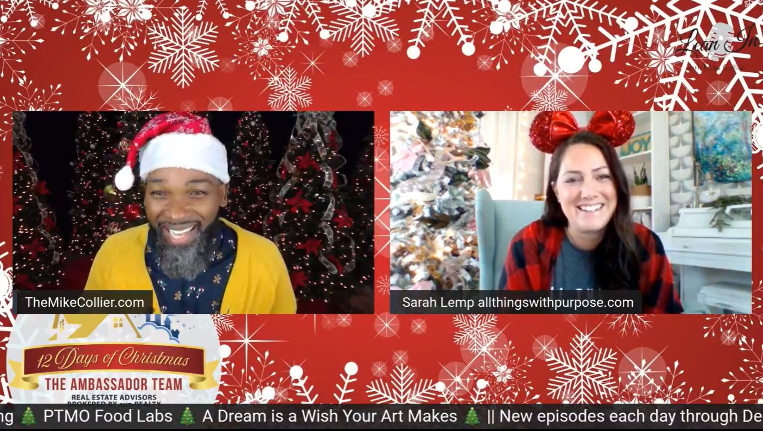 12 Days of Christmas Cast Member Marketplace All Things with Purpose Sarah Lemp 5